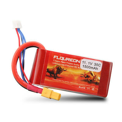 4S 14.8V 40C 1300mAh LiPo RC Battery XT60 for RC Helicopter Airplane Car Hobby