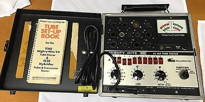 Vintage Sencore TC162 Mighty Mite VII Tube Tester