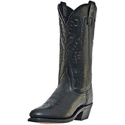 51071 Laredo Ladies Leather Foot Western Cowboy Boot Black NEW