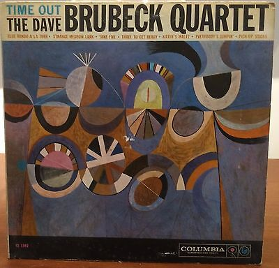 The Dave Brubeck Quartet-Time Out lp Us Issue Columbia – CL 1397 Mono VG+