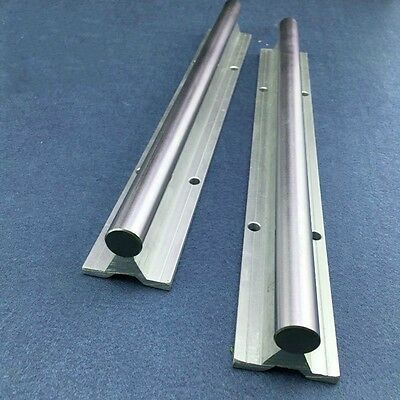 SBR12 Fully Supported Linear Rail Shaft Rod Linear Shaft With Support DIA 12mm