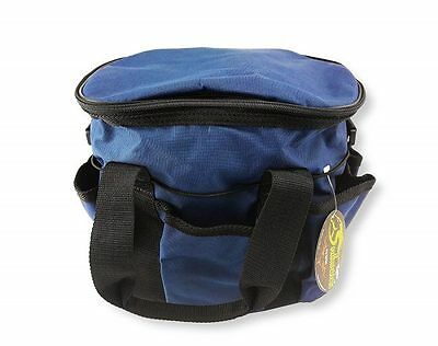 Deluxe Grooming Kit - Grooming Items Included - By Southwestern Equine Navy Blue