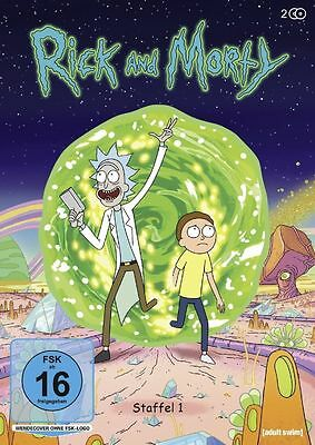 RICK AND MORTY  - COMPLETE SEASON 1 -  DVD - PAL Region 2 - & New