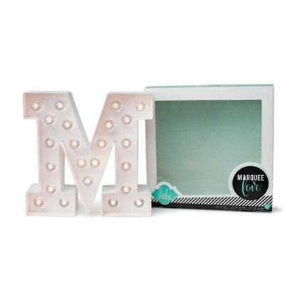 Heidi Swapp Marquee Love Letters, Numbers & Shapes 8.5-M
