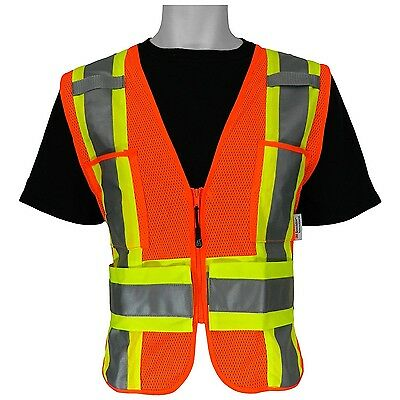 3M ANSI Class 2 High Visibility Safety Vest Adjustable Medium Large X-Large