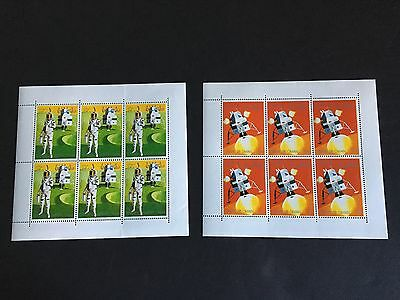 Middle East State of Oman SPACE - mint nh stamp sheets