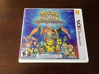 Pokemon Super Mystery Dungeon  - Nintendo 3DS - Complete in Box CIB - Great Cond