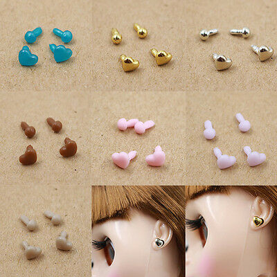 "New 7 Pair of Earring For 12"" Takara Neo Blythe Doll Nude Doll From Factory"