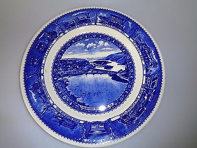 Shenango Syracuse China Baltimore Ohio Railroad - Dinner Plate Harper's Ferry Va