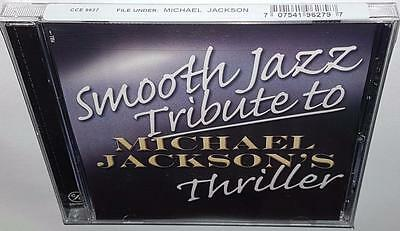 Va Smooth Jazz Tribute To Michael Jackson's Thriller Brand New Sealed Cd