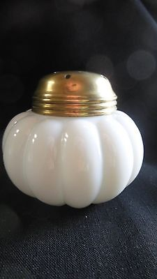 "EAPG - Dithridge & Co. ""Little Shrimp"" sugar shaker - white"