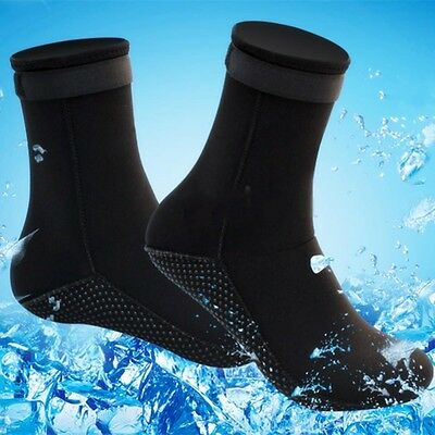 Adult Unisex 3mm Neoprene Diving Scuba Surfing Snorkeling Swimming Socks S-XL