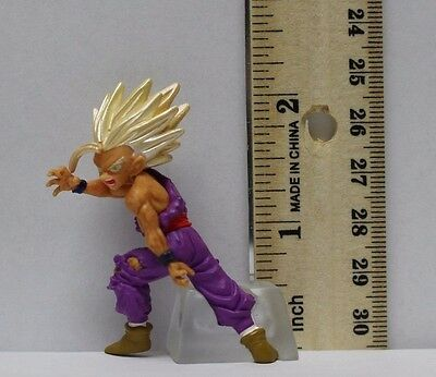 *USED* NO BOX Dragon Ball Z Kai HG gashapon Mini Figure (Son Gohan Super saiyan)