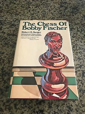 The Chess of Bobby Fischer by Robert E. Burger Hardcover Published in 1975