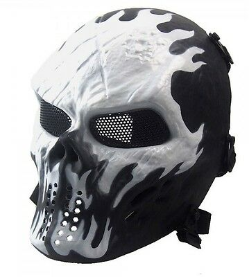 Airsoft Pro Paintball Skull Mask