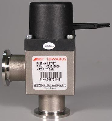 BOC Edwards PV25MKS ST/ST Right-Angle Stainless Steel Manual Valve C31315000