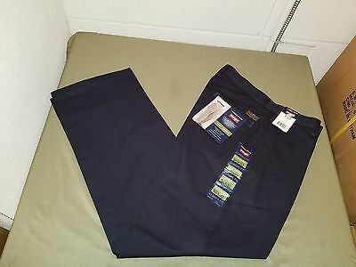 cc0e5099 NEW MENS TIMBER creek by wrangler classic fit flat front pant ...