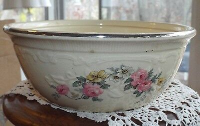 "VINTAGE HOMER LAUGHLIN OVEN SERVE OVENSERVE CASSEROLE 10"" Virginia Rose"