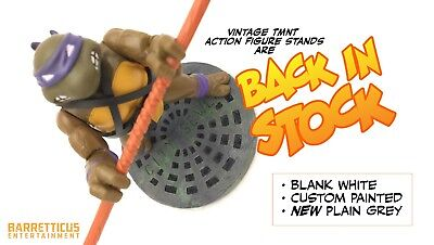 Custom Vintage Teenage Mutant Ninja Turtles TMNT Action Figure Stands