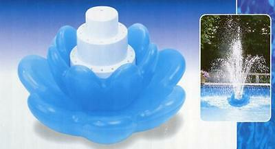 Fountain 3 tier Blossom Swimming Pool Sprinkler Water Fall Easy Install