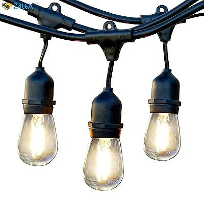 Brightech Ambience Pro LED Outdoor Weatherproof Commercial Grade String Lights