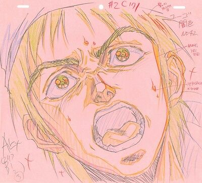 Anime Genga not Cel Battle Angel / Gunnm (handdrawn by YUTAKA MINOWA) #2