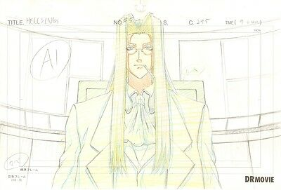 Anime Genga not Cel Hellsing Ultimate #3