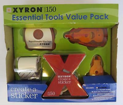 XYRON Model 150 Essential Sticker maker Tool Value Pack Scrapbooks Card Makers