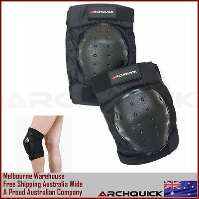Knee Pads Skateboard Bicycle Bike Skate Scooter Cycling Protective Gear Black