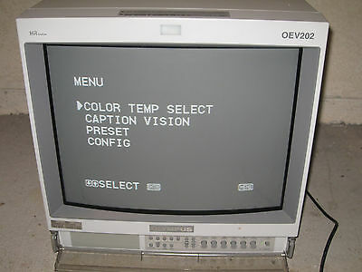 19 Inch OLYMPUS OEV-202 Color Monitor