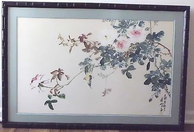 Chinese Painting~Flower N Bird From The Lingnan School Of Artist岭南派国画家~Yuan Feng