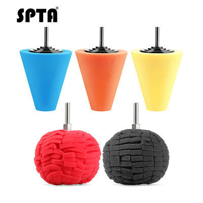 "3""(80mm )Buffing Ball Finishing Buff Polishing Pad For Car Polishing Select Size"