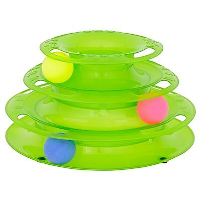 Good Girl Batting Ball Stack Interactive Cat Kitten Play Exercise Toy