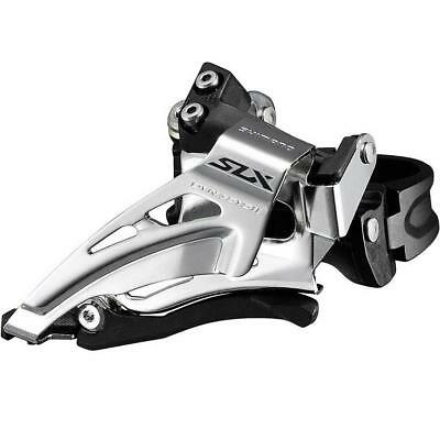 Shimano SLX M7025 Double 11-Speed Top-Swing Front Derailleur Band-On Type