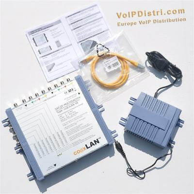 coaxLAN CL98 LAN-SAT-Multiswitch > 200/500 Coax Powerline kompatibel (devolo)