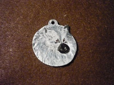 Keeshond Dog Necklace