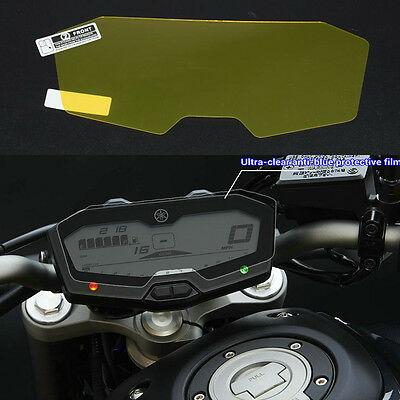 Cluster Scratch Protection Film/Scratch Screen Protector for Yamaha FZ07 / MT-07
