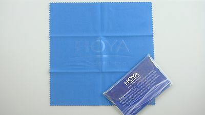 2 x Hoya Microfiber Cleaning Cloth Glasses Lenses Camera DSLR Computer Iphone