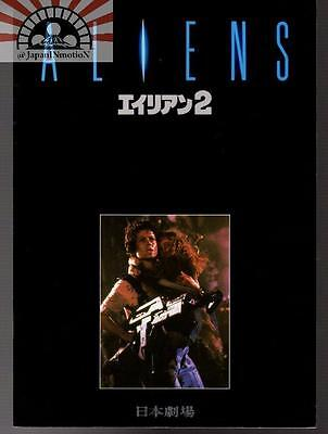 MBH29256 Aliens 1986 Japan Movie Souvenir Pamphlet Japanese Book