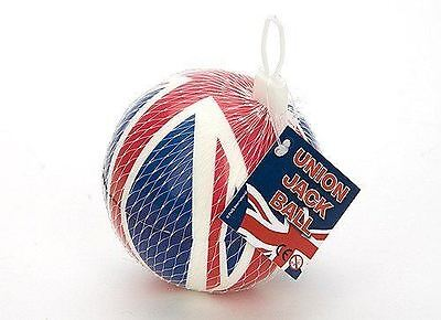 Union Jack Sponge Soft Indoor Lighweight Ball Kids Games