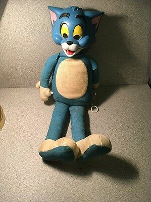 Tom And Jerry Cat 1965 Old Stuffed Cat