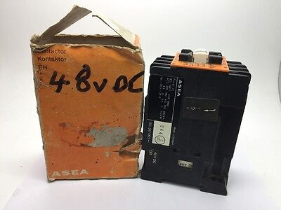 NEW ASEA EH 9-10 Contactor 415v 4.5kW COIL DD: 48vDC EH9-10