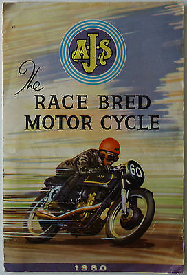 AJS Sales Brochure - The Race Bred Motor Cycle 1960