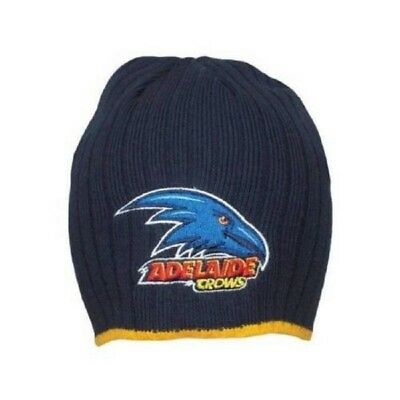 Adelaide Crows AFL Footy Rib Knit Surf Beanie