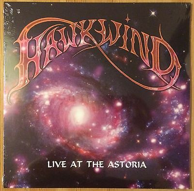 Hawkwind ‎- Live At The Astoria - 2 x Vinyl LP - New and Sealed