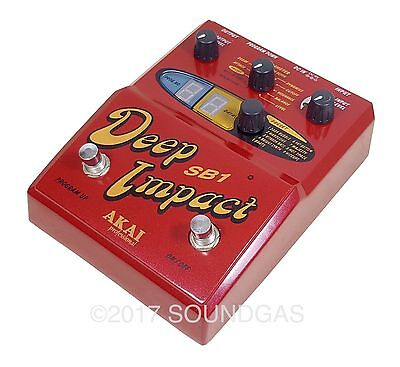 AKAI DEEP IMPACT SB-1 - Serviced - Bass Synthesizer Pedal - *Price inc. 20% VAT*