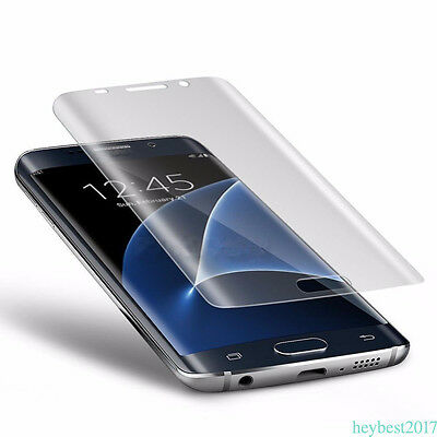Curved Anti-shock Tempered Glass Screen Protector For Galaxy S7 EDGE S8 Plus HB4
