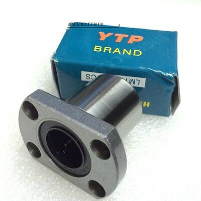 YTP LMH6-30UU Ellipse Flange Type Linear Motion Ball Bearing For 6mm-30mm Shaft