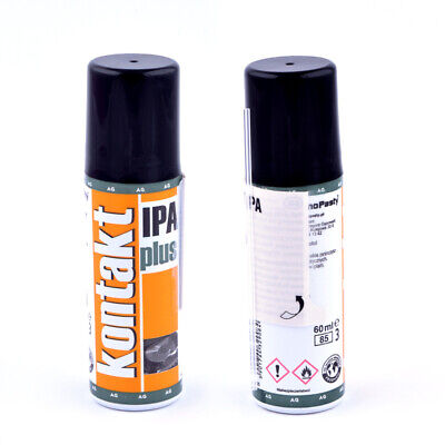 Kontakt IPA Plus Spray 60ml Isopropanol Entfetter Elektronik Reiniger