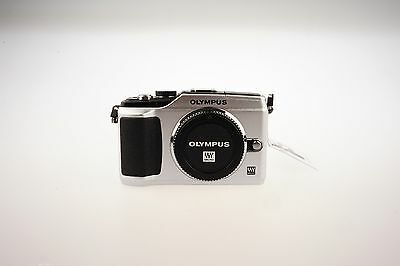 Olympus PEN E-PL2 12.3MP Digital Camera - Silver (Body Only)